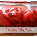 Fresh Strawberry Filling Recipe