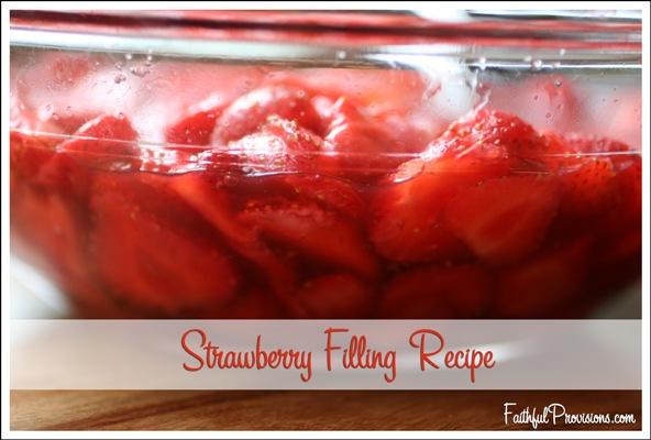 Fresh Strawberry Filling