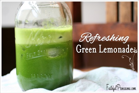Green Lemonade Fresh Juice Recipe