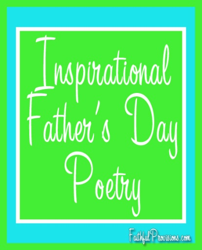 Inspirational Father's Day Poems for Cards