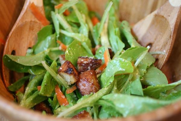 Lemon-Parmesan-Vinaigrette-salad