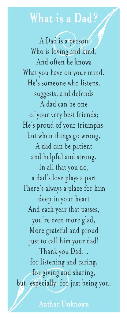 3 Poems About Fathers Day Faithful Provisions