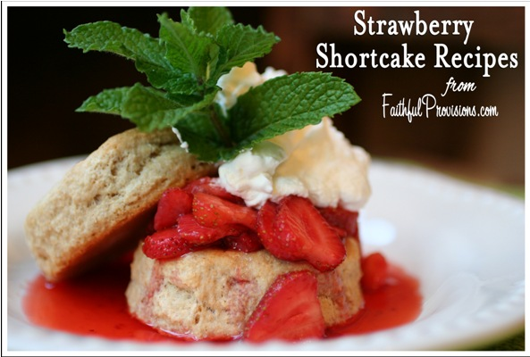 Easy Strawberry Shortcake with Homemade Biscuits