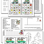 Free Printable Travel Games and Activities
