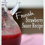 Fresh Strawberry Sauce Recipe