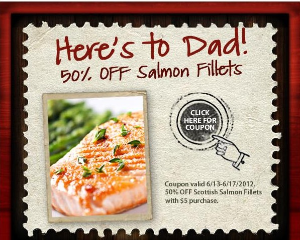 Salmon Fillets at Earth Fare