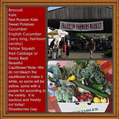Delvin Farms CSA Weekly Share