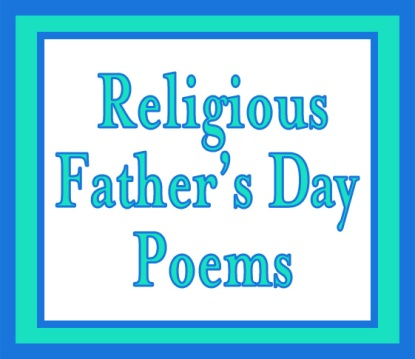 Religious Father's Day Poems