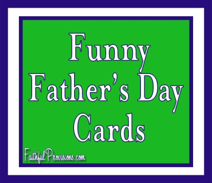 Funny Father's Day Cards
