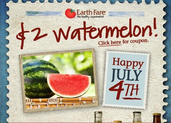 Coupon for Watermelon at Earth Fare