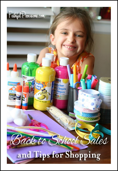 Back to School Sales 2015 Tips and Weekly Deals