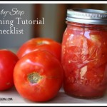 Hot Water Bath Canning Tutorial: How to Can Tomatoes