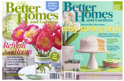 Better Home And Gardens Magazine Better Homes And Gardens