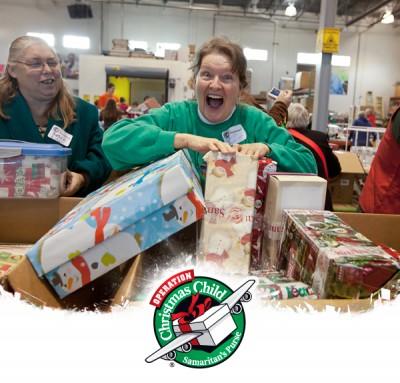 Operation Christmas Child Processing Center Volunteer