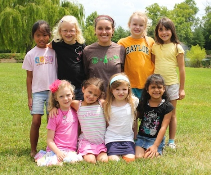 Camp Group with Counselor
