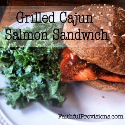 Salmon Sandwich Recipe
