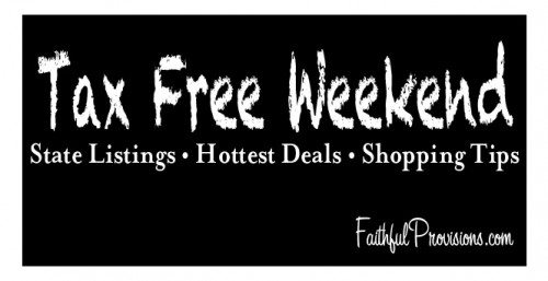 Tax Free Weekend Shopping Tips
