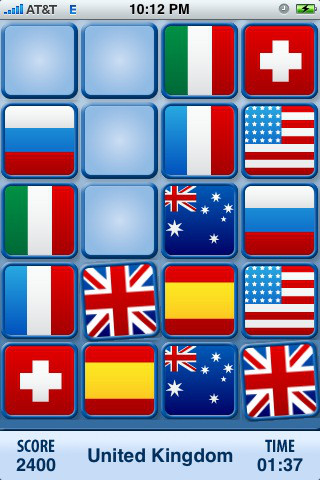 Free Flags App for iPhone or iPod