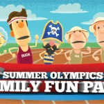 Free Olympic Activities Printable from What's in the Bible