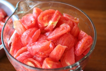 Cut Tomatoes