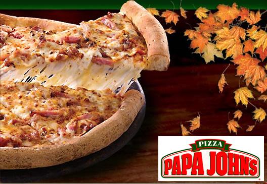Free Papa John's Pizza