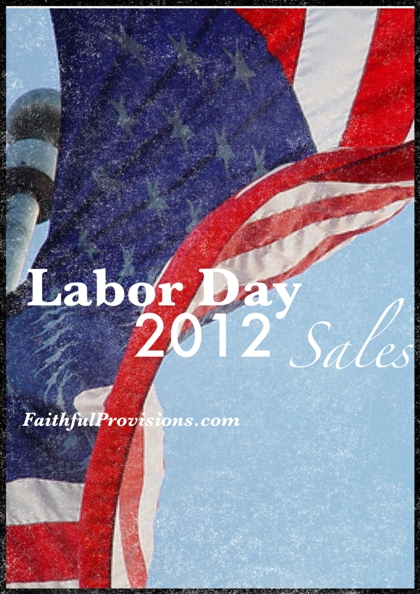 Labor Day Deals for 2012