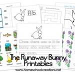 Free Preschool Printables   The Runaway Bunny