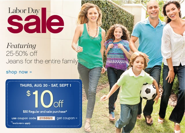 Belk Labor Day Sale & Printable Coupon