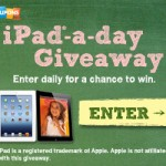 Enter to Win a FREE iPad!