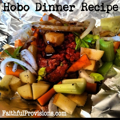 Easy Hobo Dinner Recipe