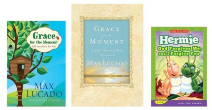 Giveaway 3 Max Lucado Books