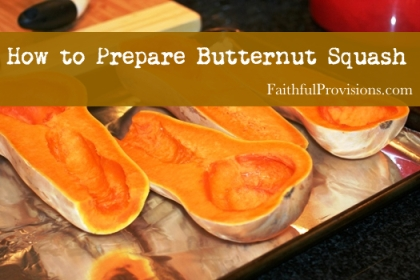 Cooking Butternut Squash_How to Cook Butternut Squash