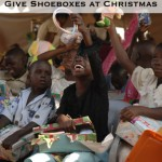 Giving Shoeboxes for Christmas