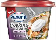 Philadelphia Cooking Creme Savory Garlic