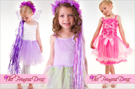Princess and fairy costumes at The Princess Dress