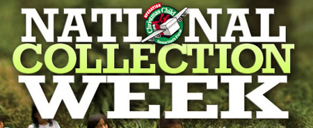 When is Operation Christmas Child National Collection Week