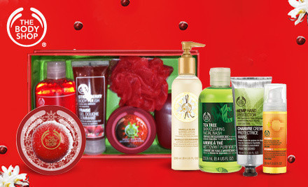 $20 Voucher to The Body Shop only $10