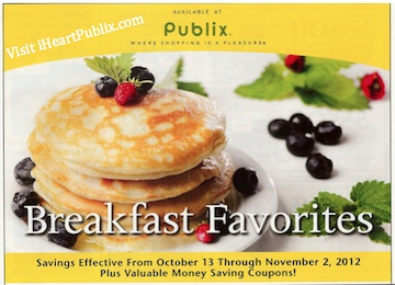 Publix Yellow Flyer: Breakfast Favorites