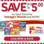 Kellogg's Family Rewards: Two Free 50 Point Codes