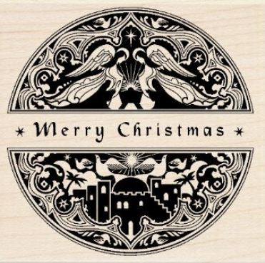 Handmade Christmas Cards with Stamps