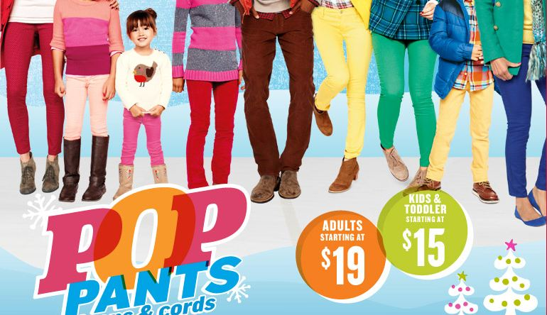 Old Navy Pop Pants