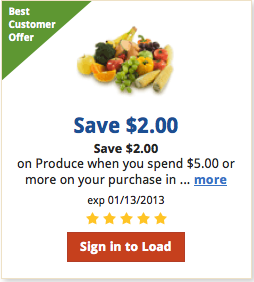 Save $2 on Produce at Kroger