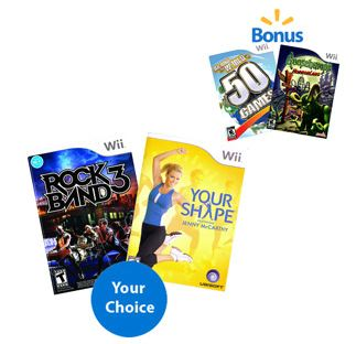 Wii Games Cyber Monday Deal 4 for $20