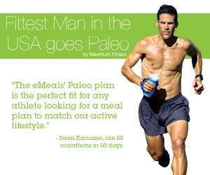 eMeal Paleo Meal Plan: fittest man in the USA