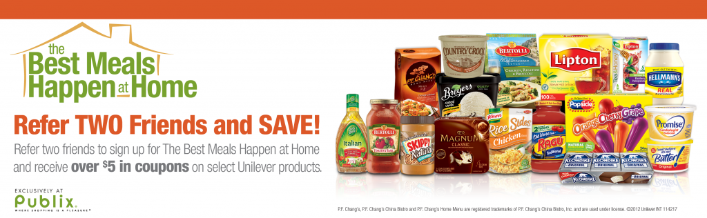 Best Meals Happen at Home Publix coupon
