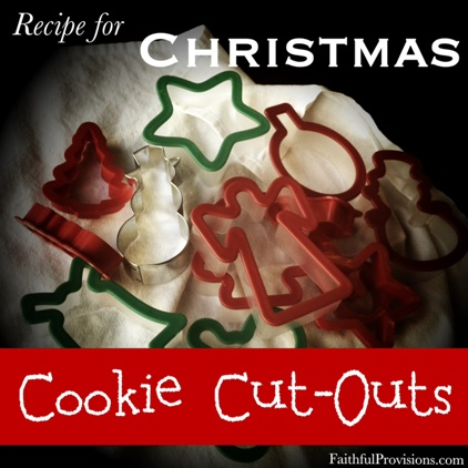 Christmas Cut Out Cookie Recipe