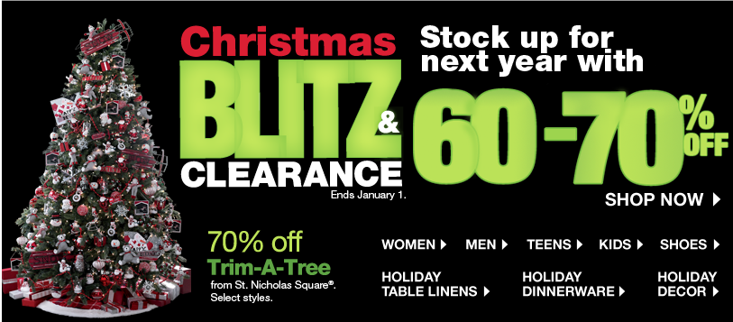 Kohls After Christmas Sale | Save Up to 90% Off With Clearance ...