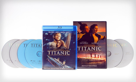 Titanic on DVD or Blu-Ray