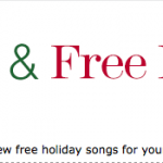 Amazon 25 Days of Free Holiday Music | 5 More FREE Songs!
