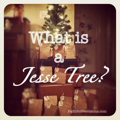 What is an Advent Jesse Tree? Learn what it is and ways to start your own countdown to Christmas tradition with your family this season!